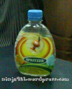 The Bottle that caused riuh-rendah-ness