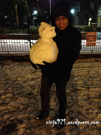 Snow baby!